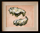 "Oysters - oil on board, 8"" x 10"", 2008"